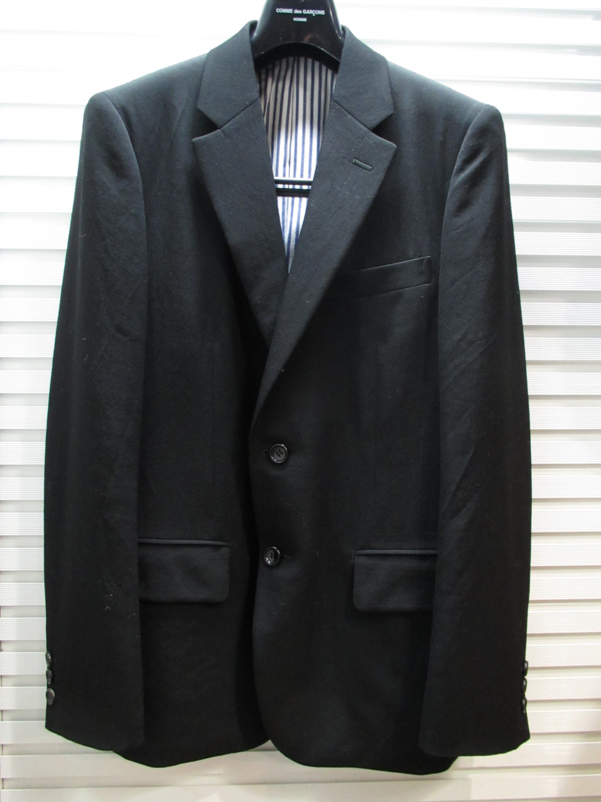 COMME des GARCONS HOMME 2B JKT サンステップ リサイクル ブランド衣料