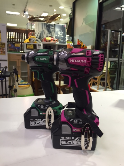 HITACHI インパクトドライバー WH18DDL2 電動工具の買取はサンステッププラスワッセ店にお任せ下さい!