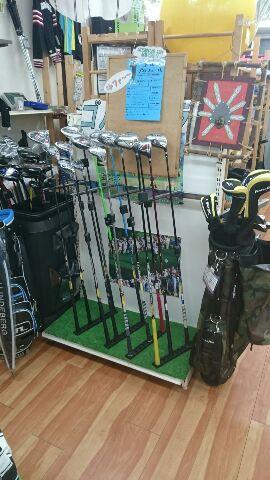 ゴルフコーナーを強化中なのだっ! 買取 福井県越前市 サンステッププラス越前店