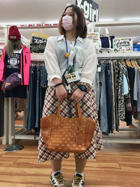 レディースレザーバッグ 買取 福井県越前市 サンステッププラス越前店