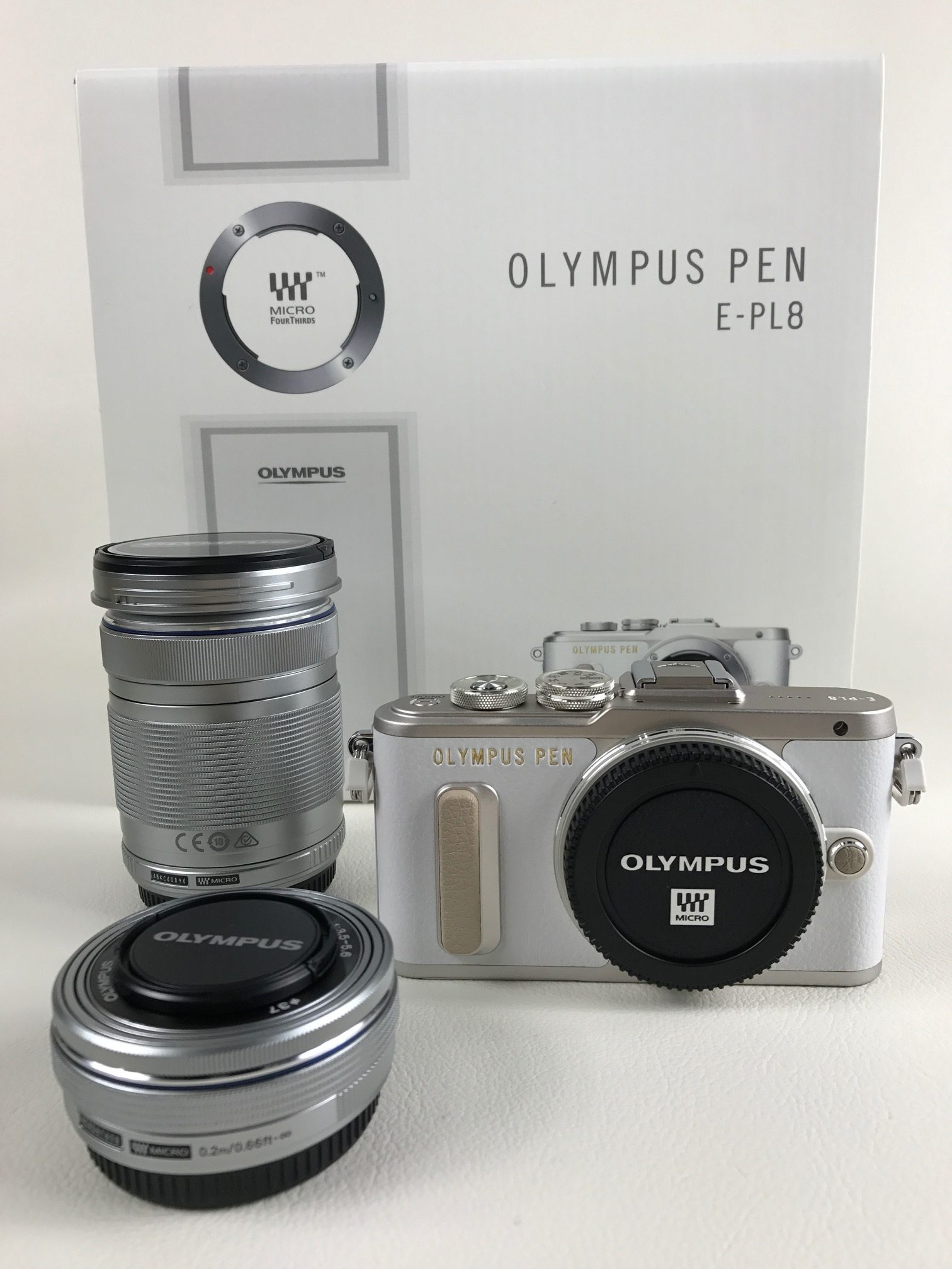 OLYMPUS PEN E-PL8 ミラーレス一眼 コンパクトカメラ ★買取 福井県越前市 サンステッププラス越前店