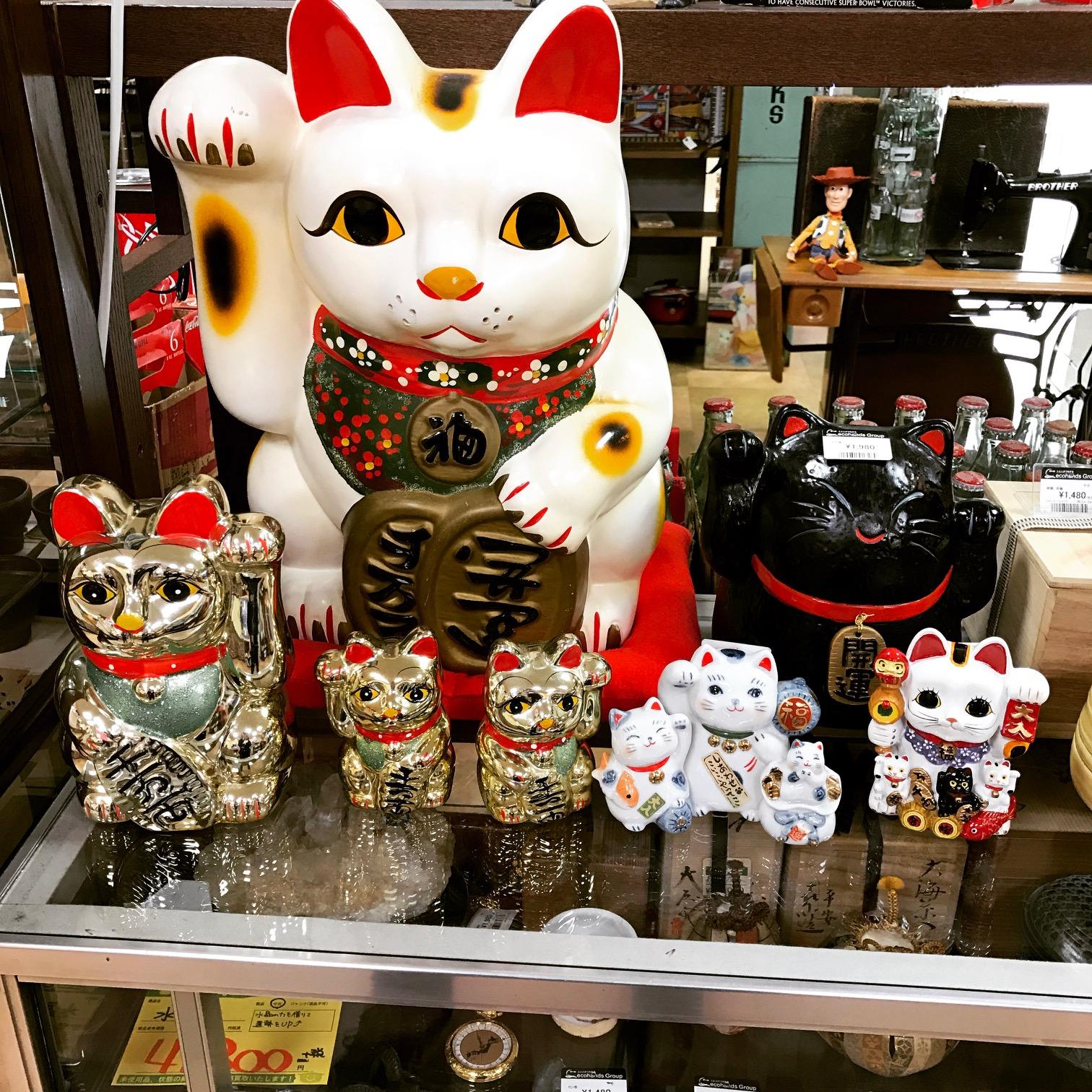 招き猫買取り大募集!サンステッププラスワッセ店 買取 買い取り 福井市
