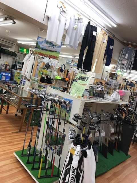 ゴルフコーナーがリニューアル!! 買取 福井県越前市 サンステッププラス越前店