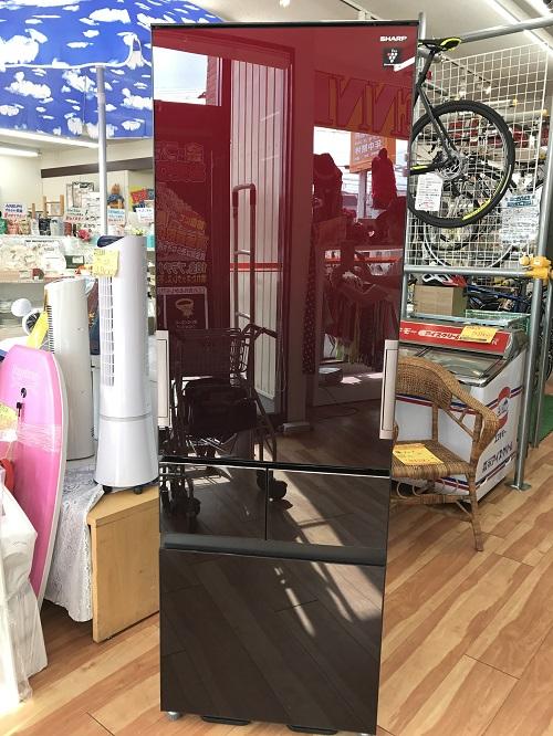 SHARP4ドア冷蔵庫 買取 福井県越前市 サンステッププラス越前店