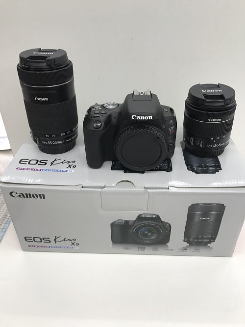 Canon EOS Kiss X9 ダブルズームキット 買取 福井県越前市 サンステッププラス越前店