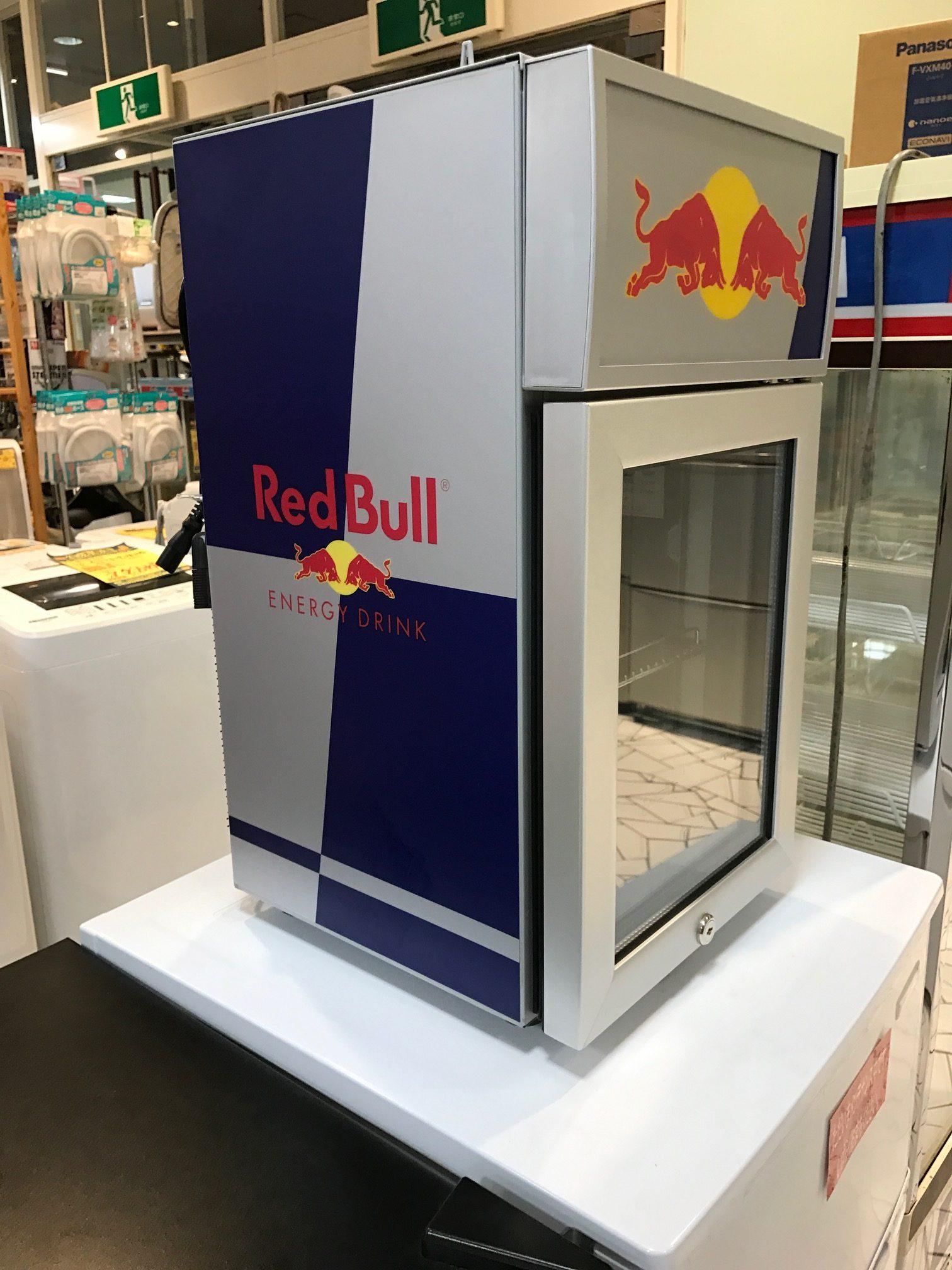 REDBULL 冷蔵ショーケース ☆サンステッププラスワッセ店 買取 買い取り 福井市
