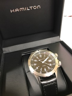 HAMILTON腕時計買わせて頂きました!腕時計買取させて下さい!