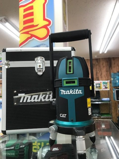 makitaレーザー墨出器SK312GD入荷!買取 福井県越前市 サンステッププラス越前店