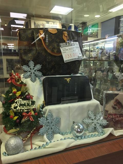 ブランドコーナーもクリスマス仕様になりました♡ サンステッププラスワッセ店 買取 買い取り 福井市