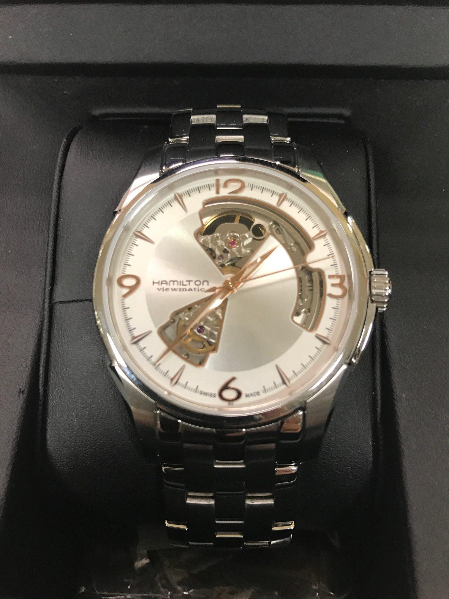 HAMILTON ハミルトン ジャズマスター 自動巻腕時計☆サンステッププラスワッセ店 買取 買い取り 福井市