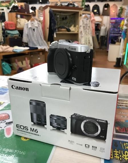 ★デジタルカメラ買取ました★Canon EOS M6★一眼レフ強化買取り中★