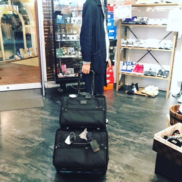 出来る男のビジネスバッグ編 TUMIのキャリーバッグが入荷しました! サンステップ福井南店 福井のリサイクルショップ