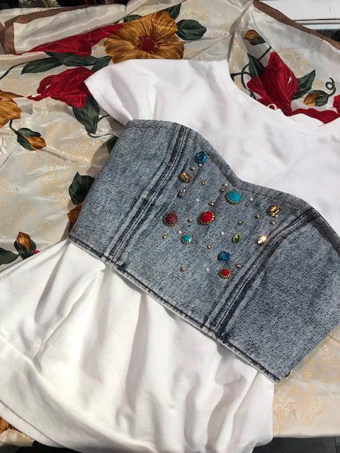 Tシャツにプラス ビスチェ サンステップ南 リサイクル 福井