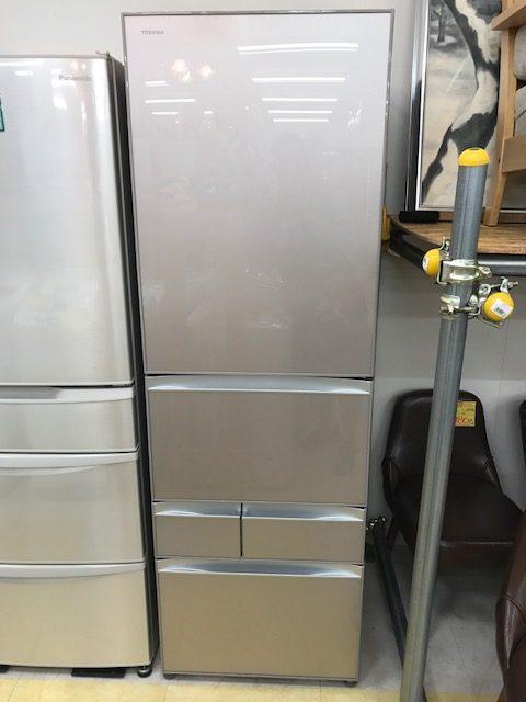 '15 TOSHIBA 5ドア冷蔵庫 GR-H43GXVE買取しました!買取 福井県越前市 鯖江市 出張 出張買取 サンステッププラス越前店