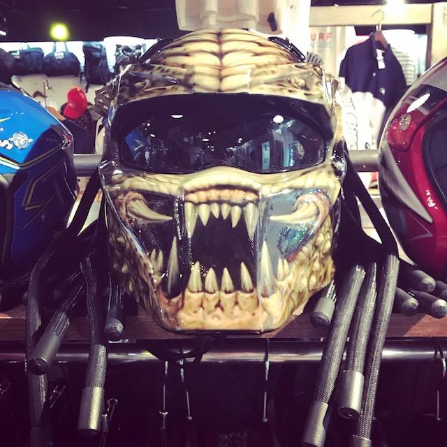 プレデターのバイクヘルメット!!! バイク用品買い取り中です! サンステップ南店