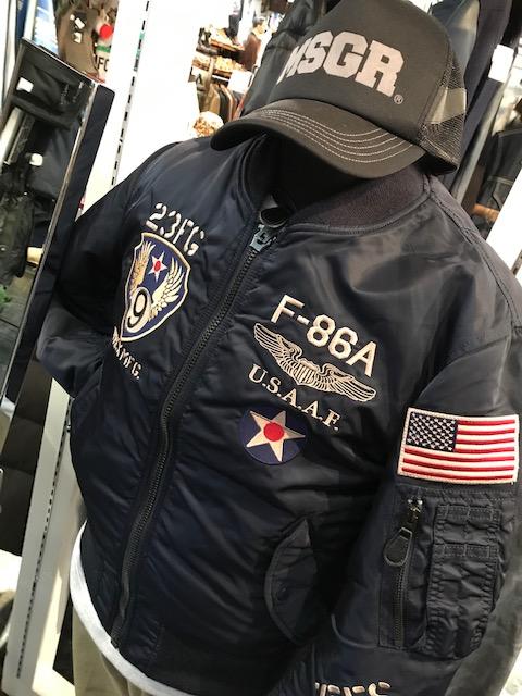 AVIREX MA-1 サンステップ南店