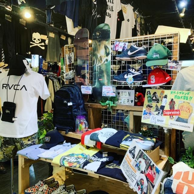 スケートブランド買取大募集中 サンステップ南店 リサイクルショップ 福井