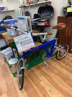birdy classic 折りたたみ自転車入荷!カスタムいっぱい!