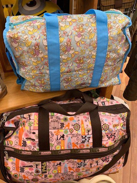 ちょっとした旅行にボストンバッグはどうですか? 買取 福井県越前市 鯖江市 出張 出張買取 サンステッププラス越前店