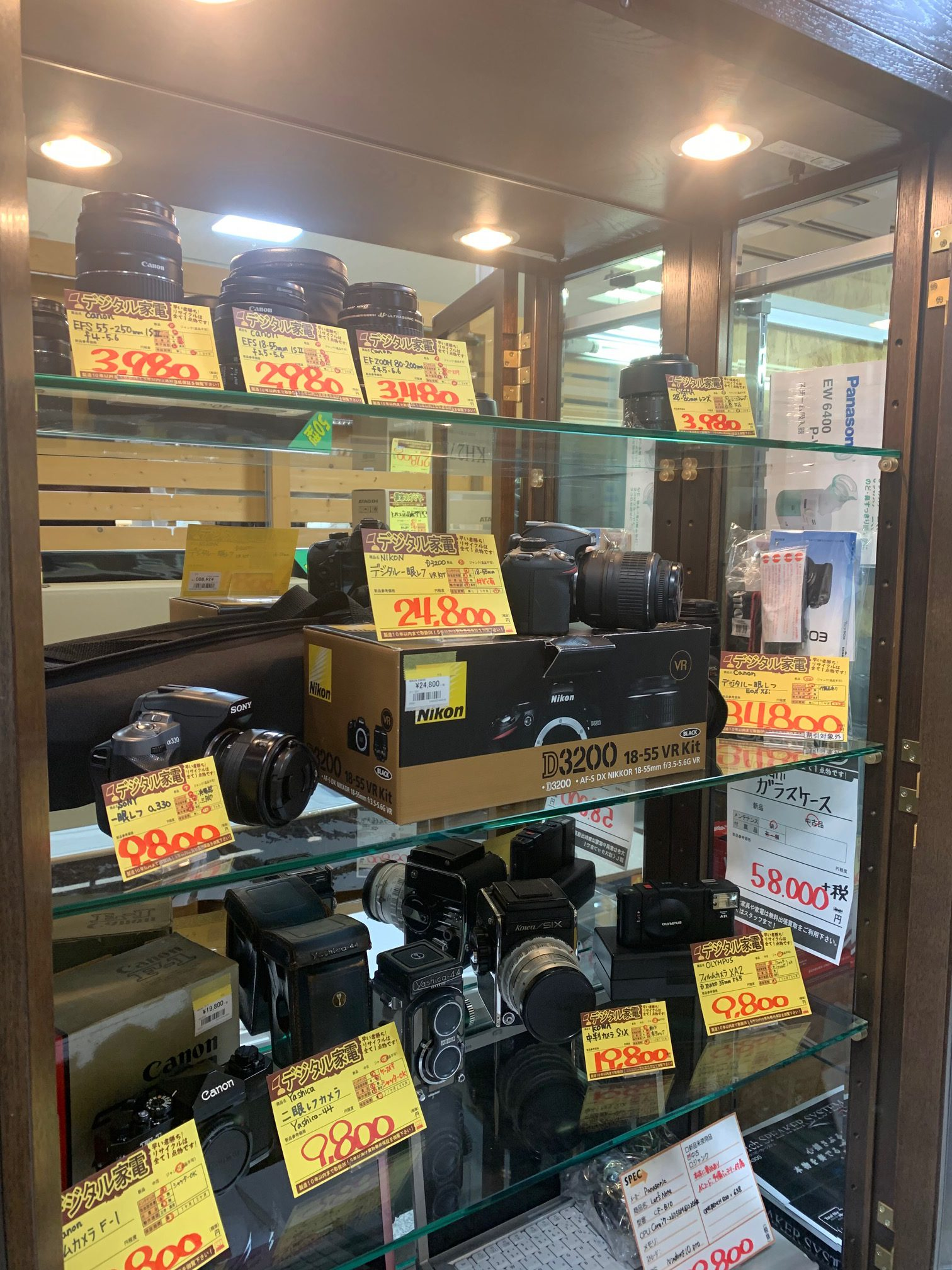 デジタル一眼買取募集☆サンステッププラスワッセ店 買取 買い取り 福井市